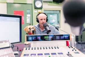Dr Sam on the radio